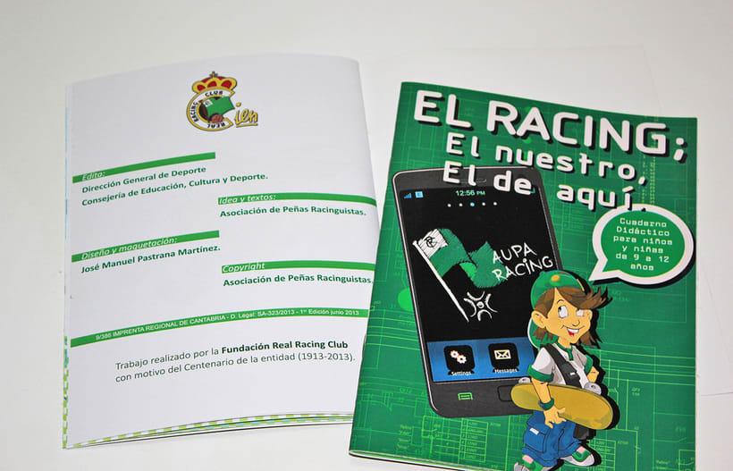 Manuales infantiles -EL RACING; el nuestro, el de aquí-Nuevo proyecto 14