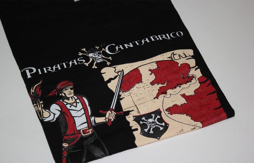 Camisetas PIRATAS DEL CANTÁBRICO 7
