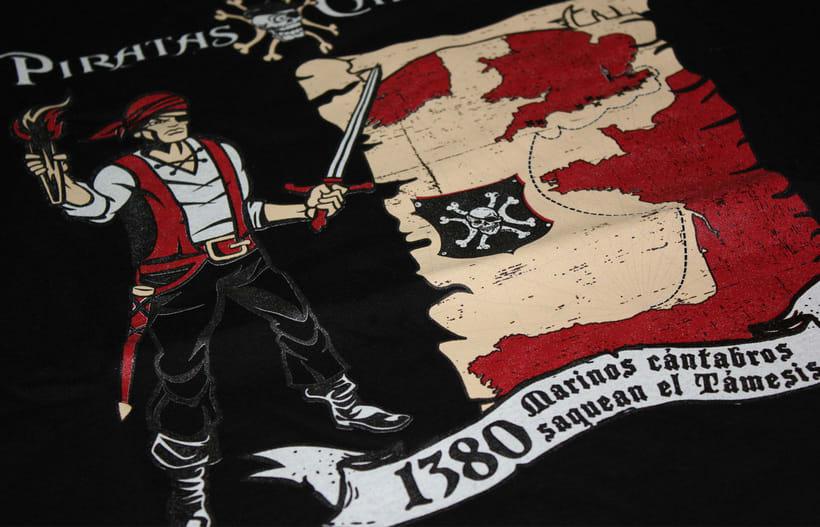 Camisetas PIRATAS DEL CANTÁBRICO 8