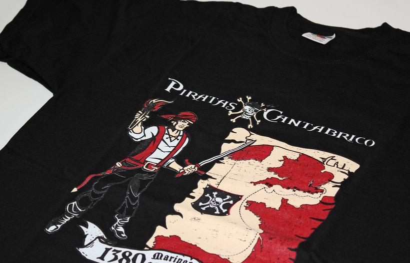 Camisetas PIRATAS DEL CANTÁBRICO 9