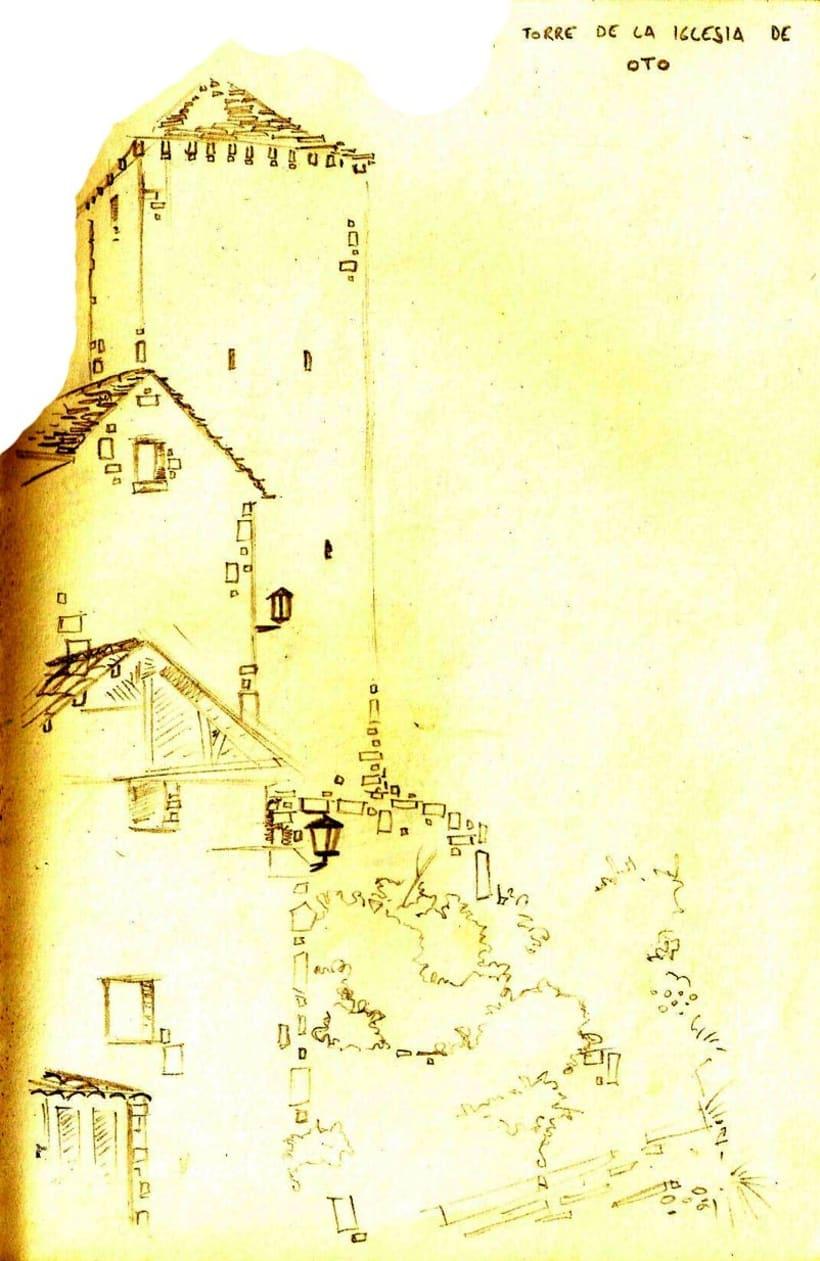Cuaderno de viaje: Broto 1