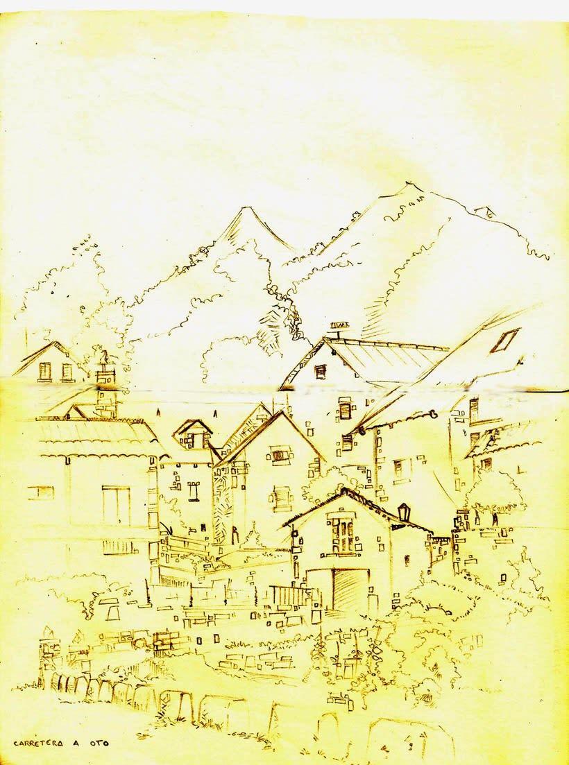 Cuaderno de viaje: Broto 2
