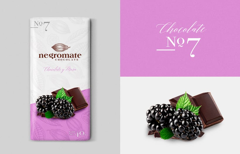 Negro Mate Chocolate 8