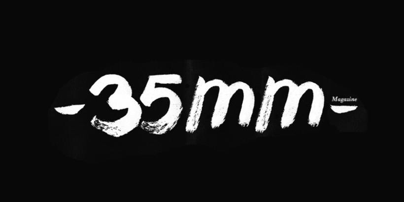 """""""35mm"""" Font Numbers 2"""