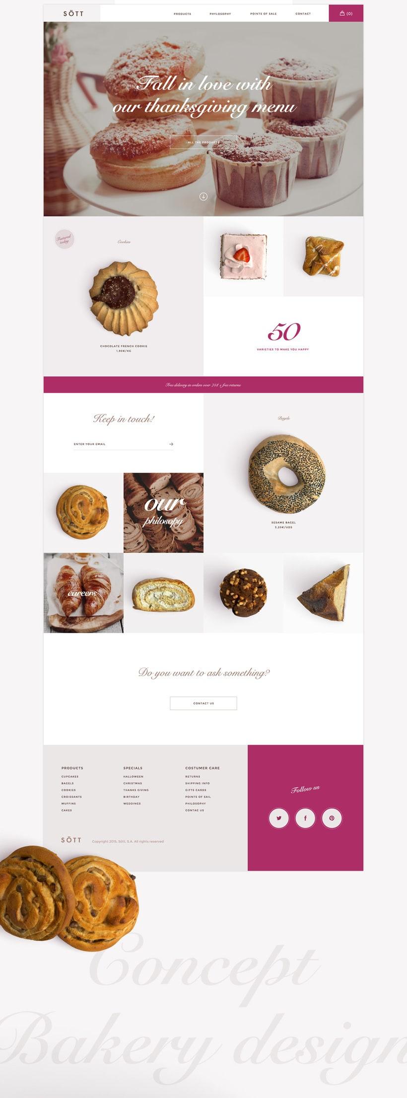 Sött bakery concept 1