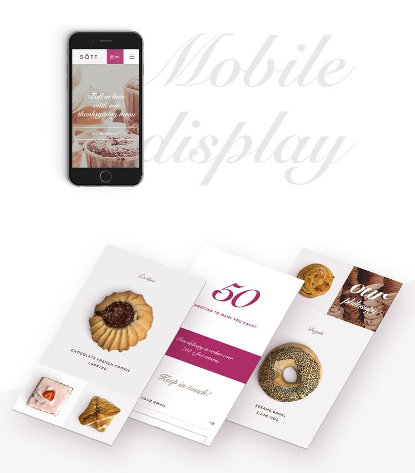 Sött bakery concept 2