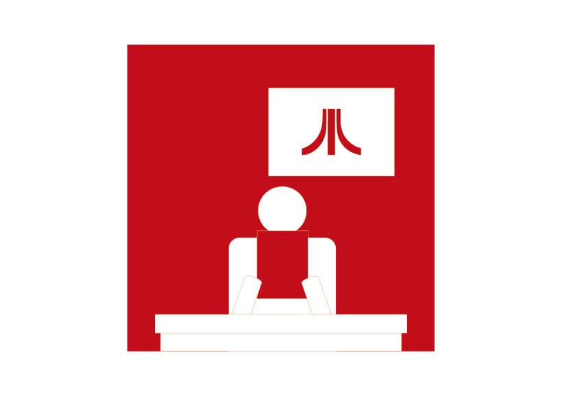 Atari. Rediseño de iconos 6