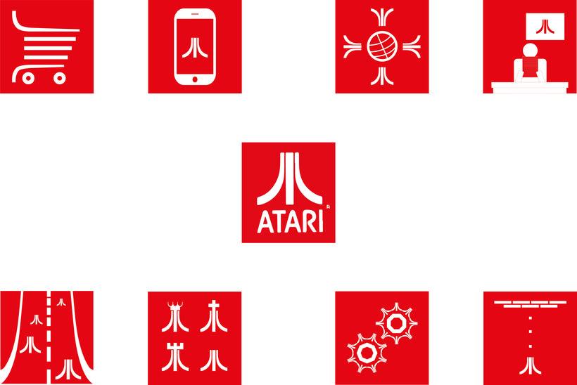 Atari. Rediseño de iconos 2