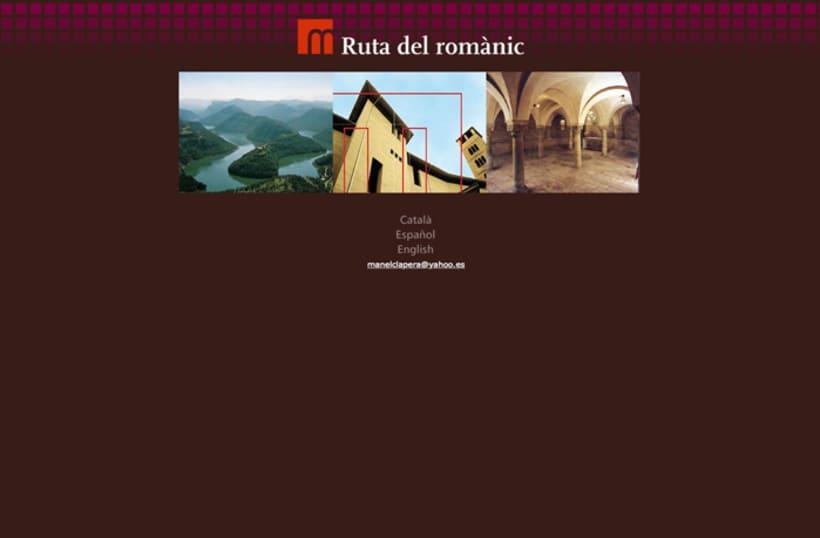 """Web """"RUTA DEL ROMÀNIC"""" 0"""