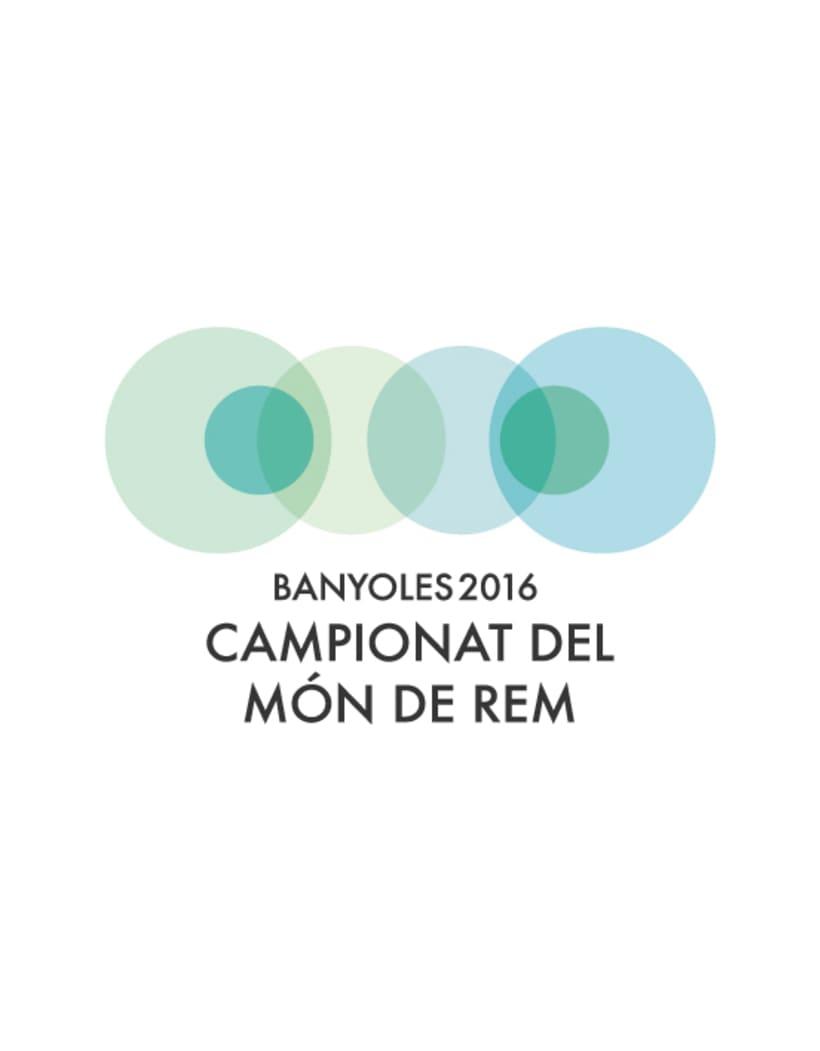 Banyoles 2016. Mundial de remo  1
