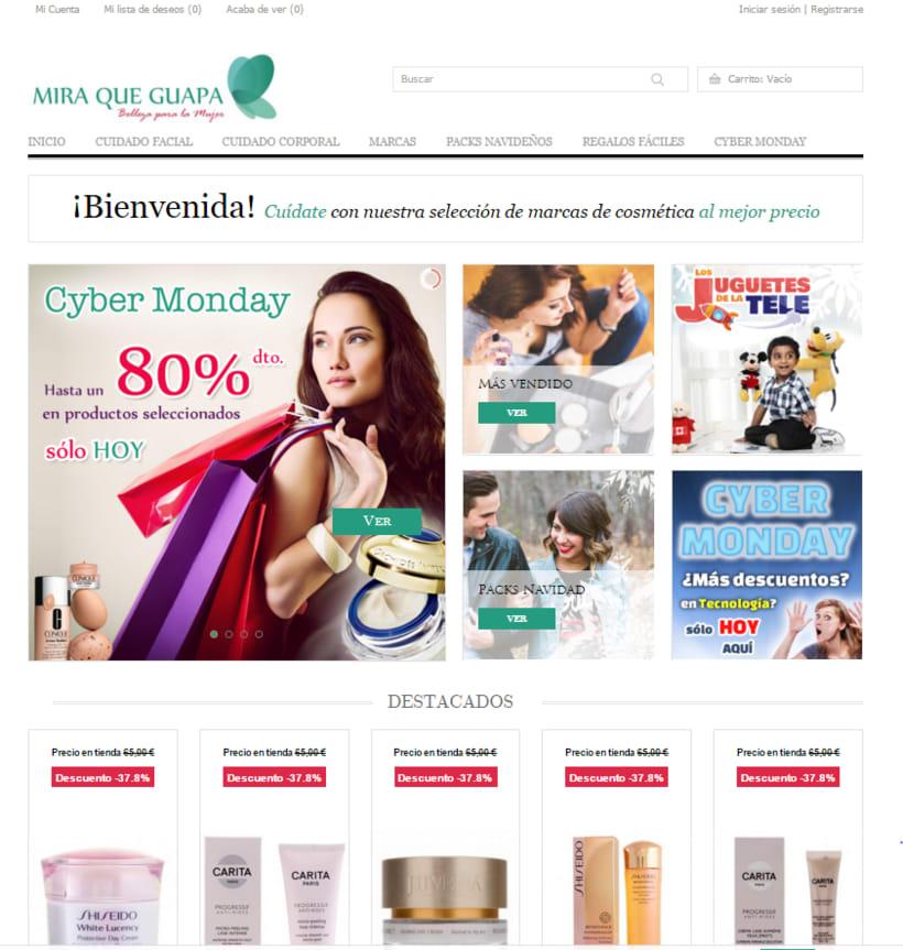 """Tienda Online """"Mira que Guapa"""" 1"""