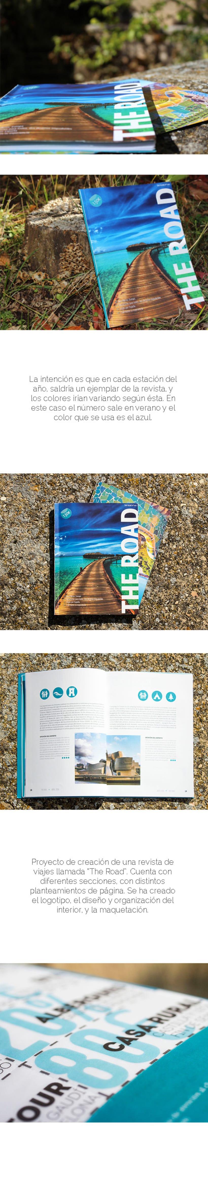 Diseño editorial - The road 0