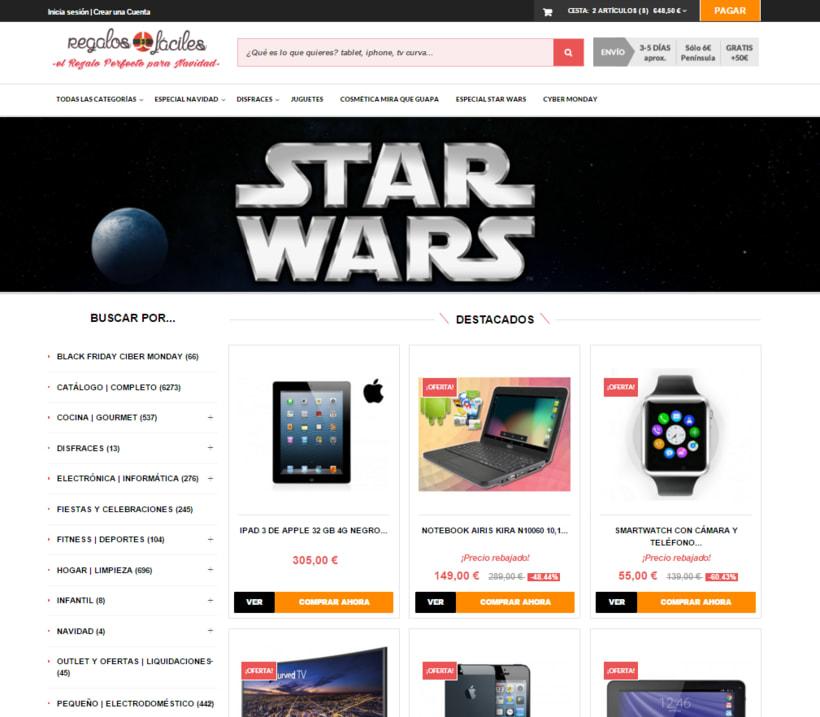 Tienda Online Regalos Fáciles 0