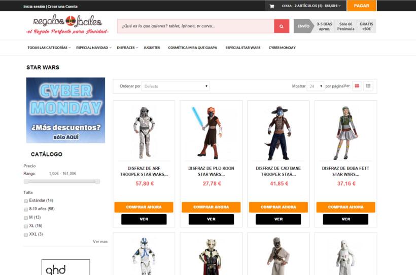Tienda Online Regalos Fáciles 1