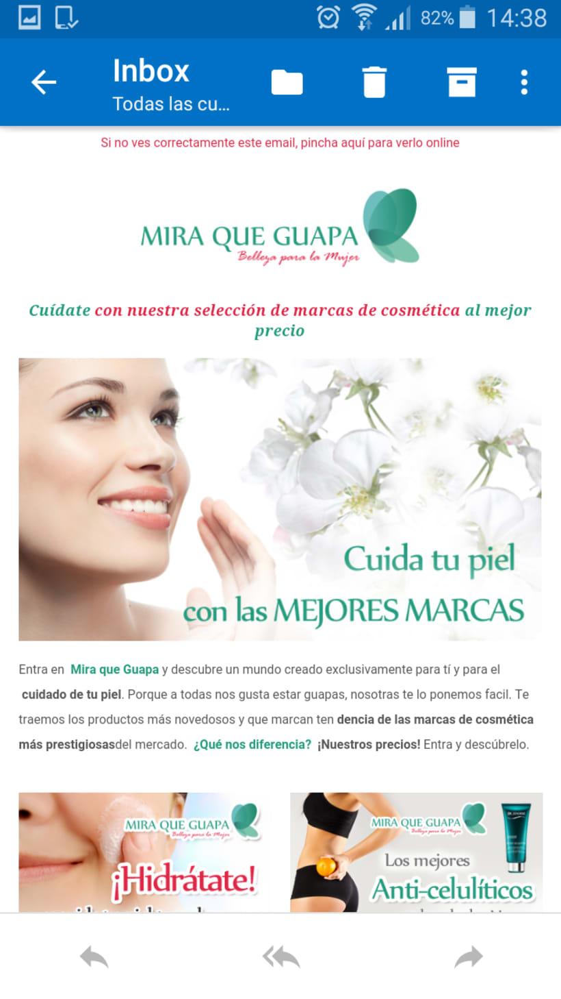 Newsletter Mira que Guapa 2