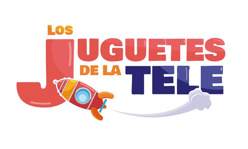 """Logo """"Los juguetes de la Tele"""" -1"""