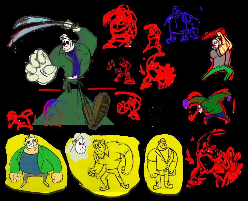 Jason Voorhees Character Development 2