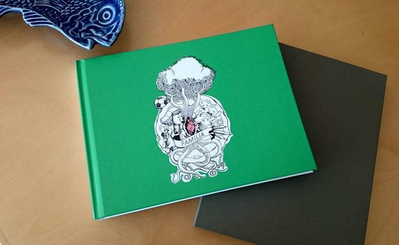"""Ilustración photobook """"Familia"""" 1"""
