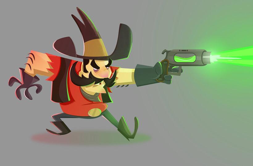 3D Cowboy 2