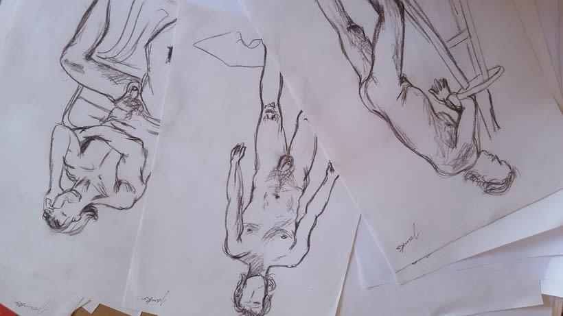 Modelo Vivo-Figura Humana-  8