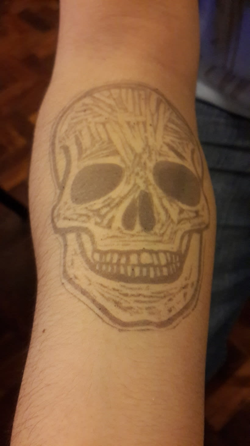 Mi Proyecto del curso Carvado de sellos y técnicas de estampación 0