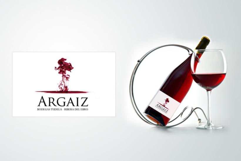 Etiqueta - Vino Argaiz -1