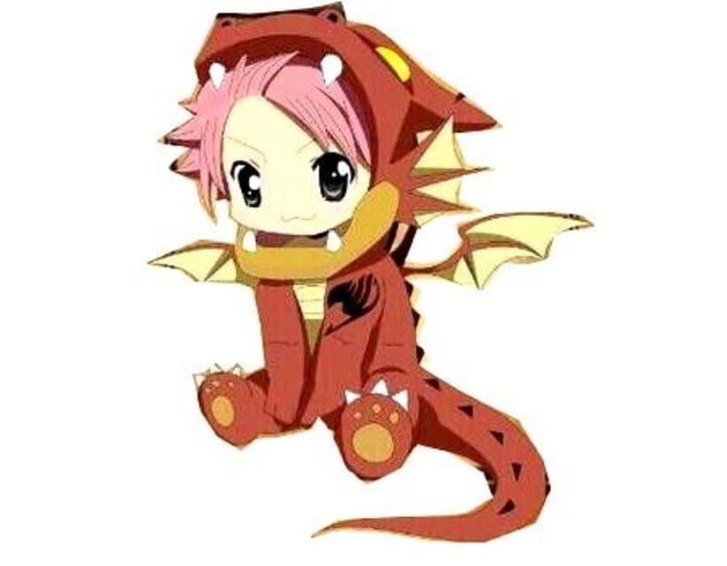 xD Natsu de Fairy Tail 0
