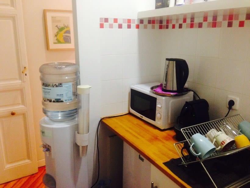 Alquiler de espacio de trabajo en oficina compartida en Madrid centro 2