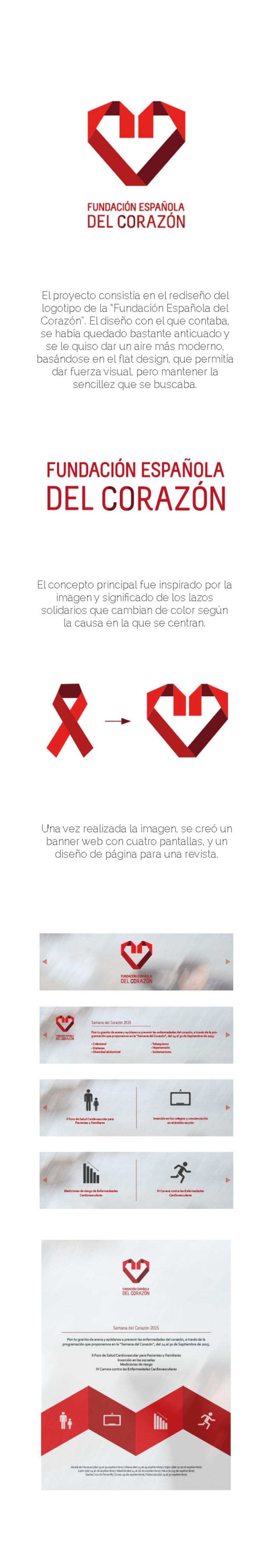 Rediseño Fundación Española del Corazón 0