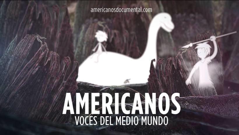 Americanos: Voces del medio mundo, animación de intro 0