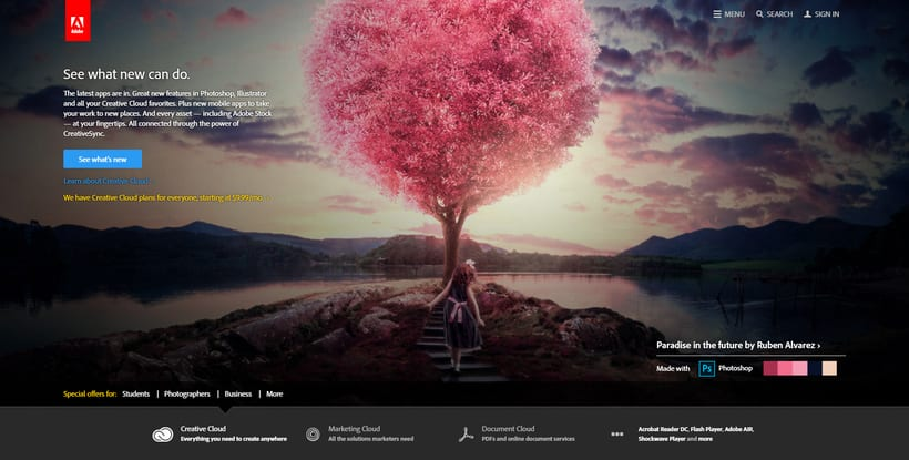 Adobe Photoshop CC 2015 Splash 5