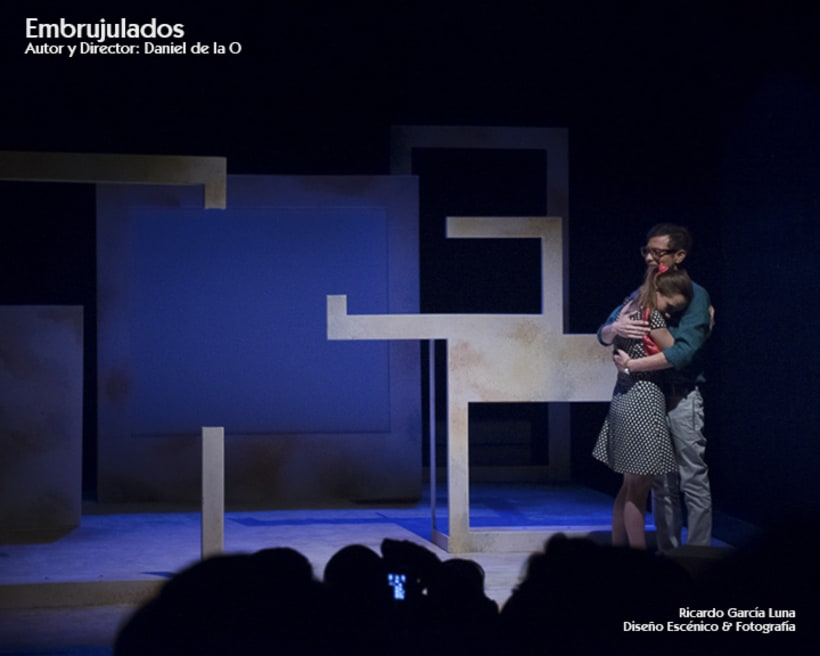 """""""Embrujulados"""" Autor y Director Daniel de La O 1"""