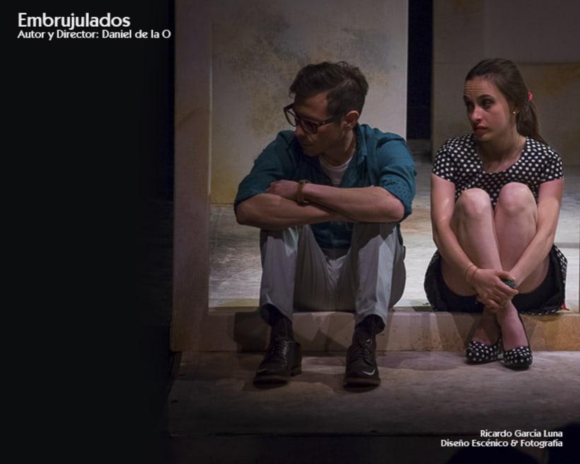 """""""Embrujulados"""" Autor y Director Daniel de La O 3"""