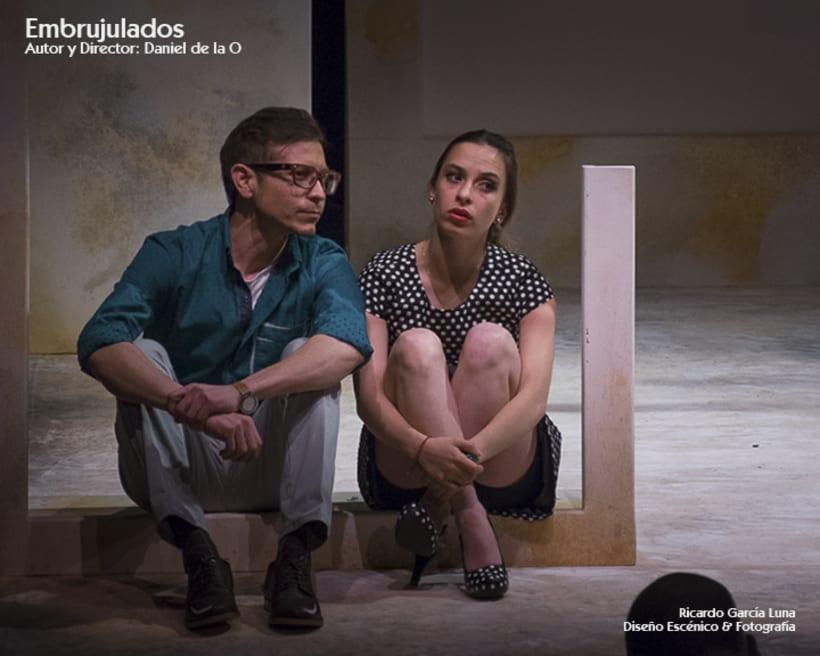 """""""Embrujulados"""" Autor y Director Daniel de La O 4"""