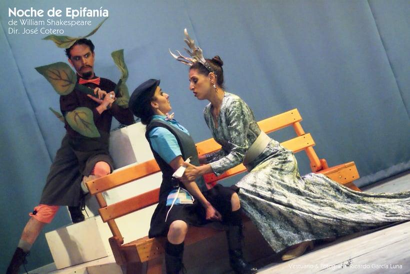 """""""Noche de Epifanía"""" de W. Shakespeare, Dir. José Cotero 12"""