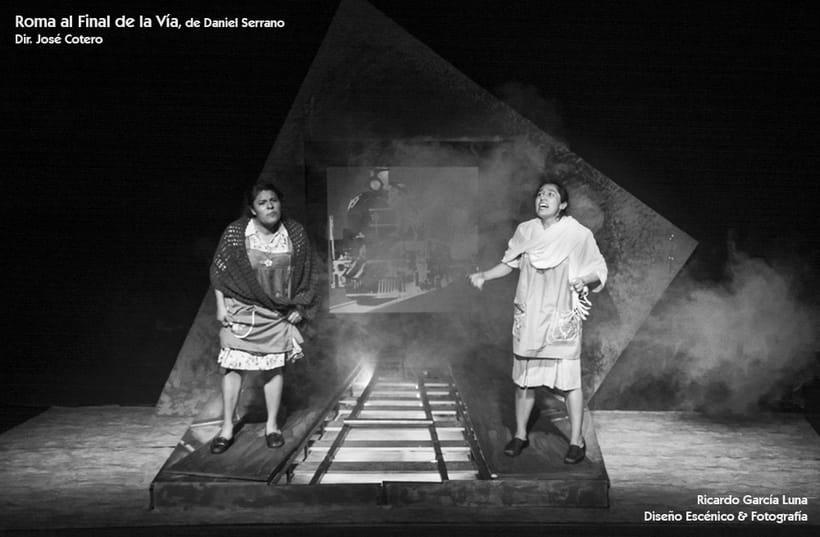 """""""Roma al final de la Vía"""" de Daniel Serrano, Dir. José Cotero 8"""