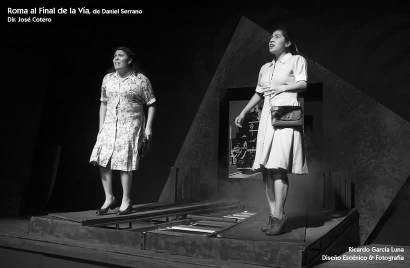 """""""Roma al final de la Vía"""" de Daniel Serrano, Dir. José Cotero 10"""