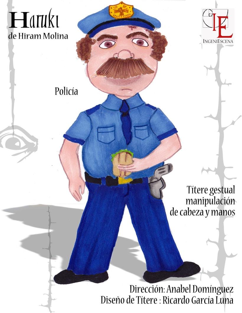 """""""Haruki"""" De H. Molina, Dir. Anabel Domínguez. 8"""