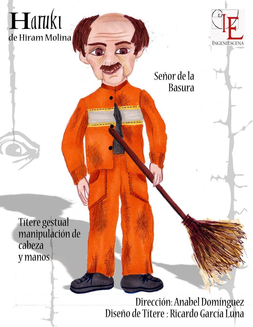 """""""Haruki"""" De H. Molina, Dir. Anabel Domínguez. 9"""
