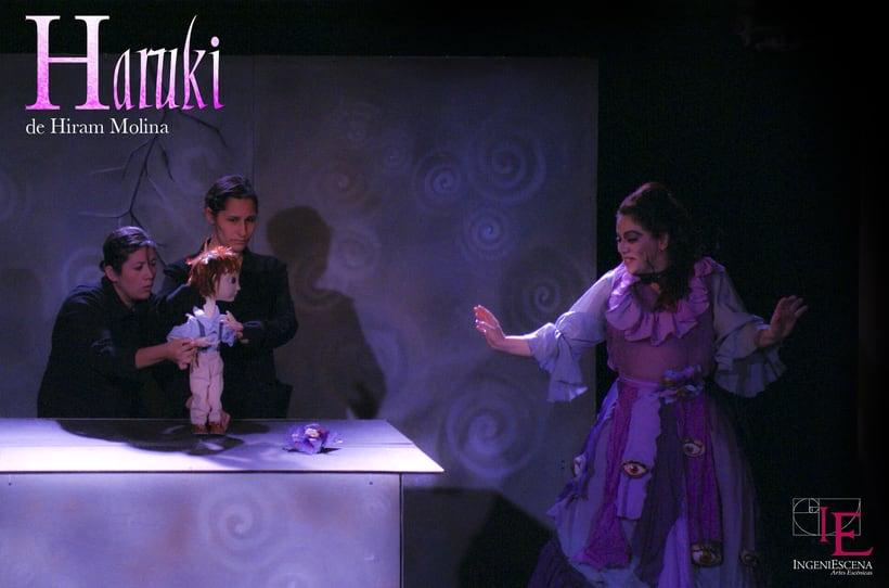 """""""Haruki"""" De H. Molina, Dir. Anabel Domínguez. 4"""