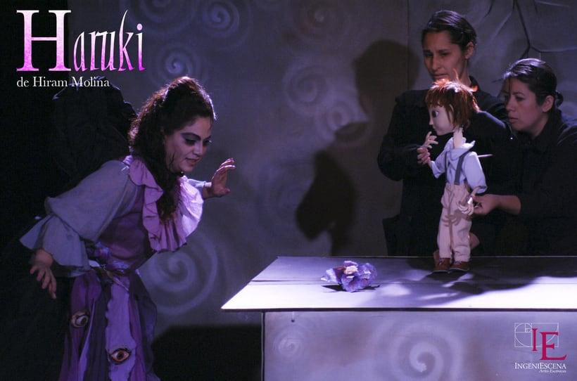 """""""Haruki"""" De H. Molina, Dir. Anabel Domínguez. 16"""