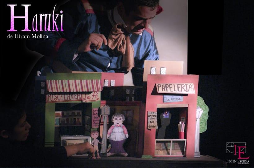 """""""Haruki"""" De H. Molina, Dir. Anabel Domínguez. 10"""