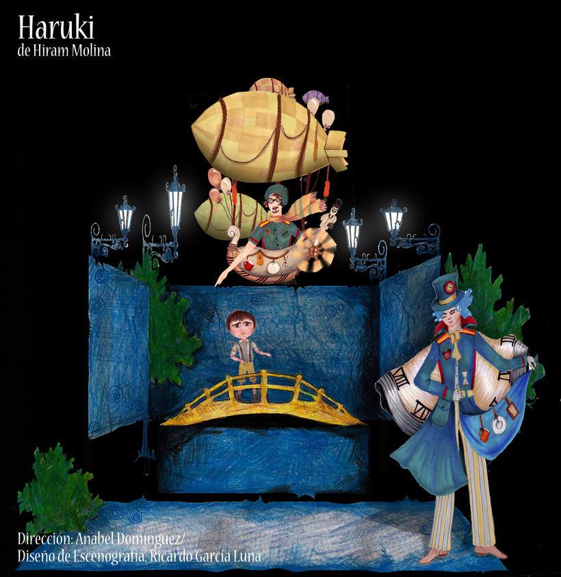 """""""Haruki"""" De H. Molina, Dir. Anabel Domínguez. 6"""
