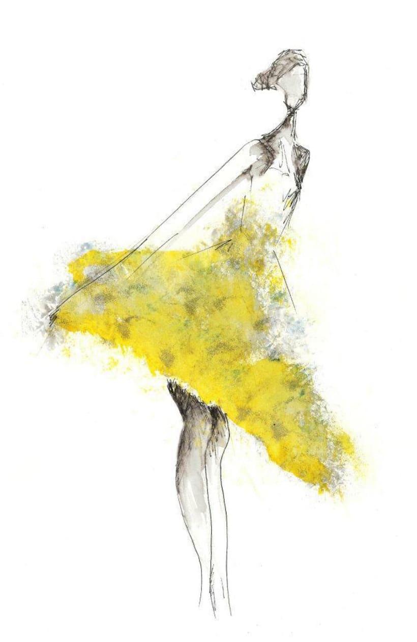 Ilustración moda 0