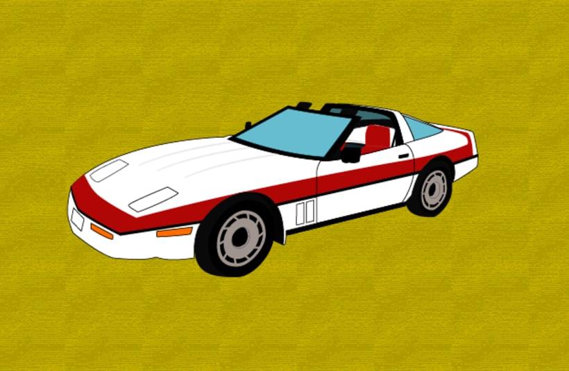 Chevrolet Corvette de Fénix (El Equipo A) 0