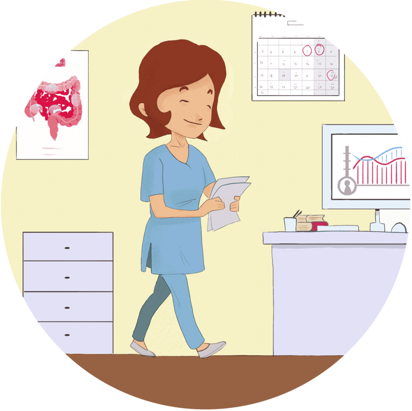 Educa Inflamatoria, Servicio médico. 0