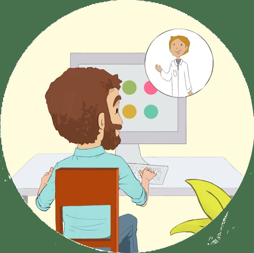 Educa Inflamatoria, Servicio médico. 3