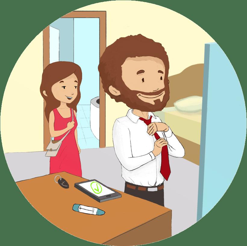 Educa Inflamatoria, Servicio médico. 4