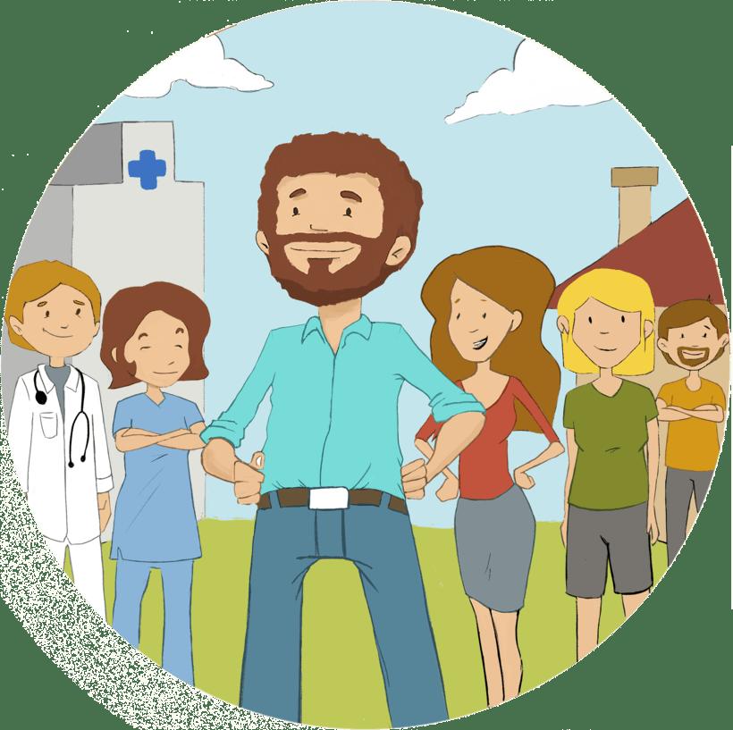 Educa Inflamatoria, Servicio médico. 5