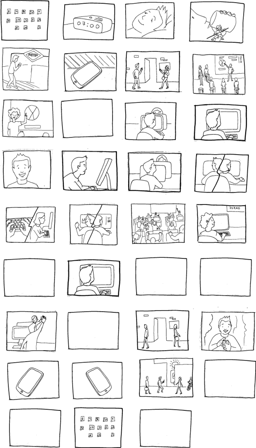 STORY BOARD, Working Day -1
